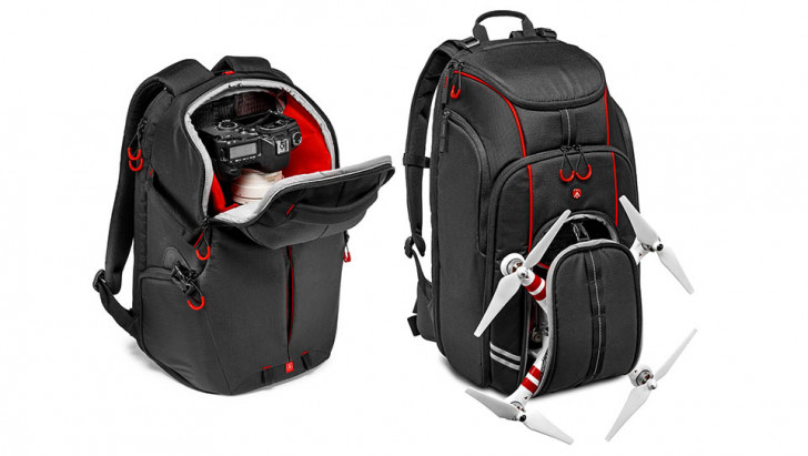Manfrotto launches new range of kit bags & D1 drone backpack