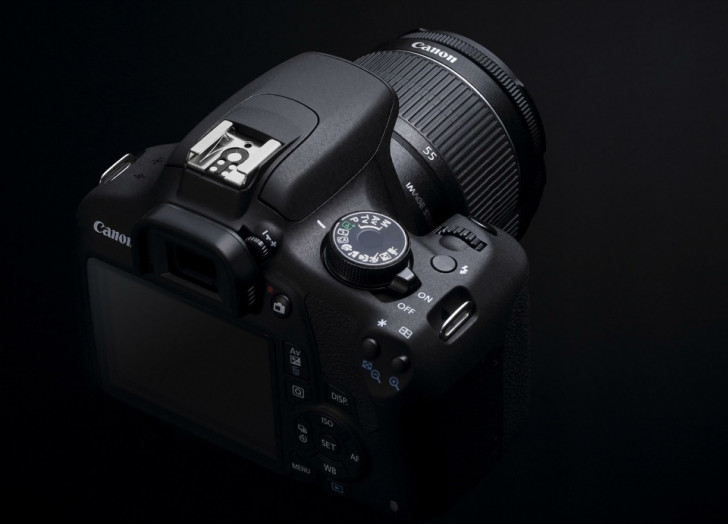 How to configure back button focus for EOS 1200D
