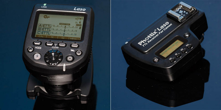 Phottix Laso flash trigger receiver and transmitter review