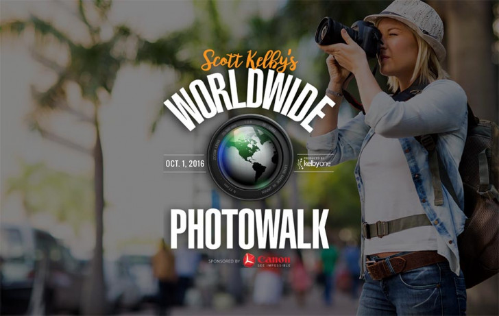 Scott Kelby's worldwide photo walk 2016