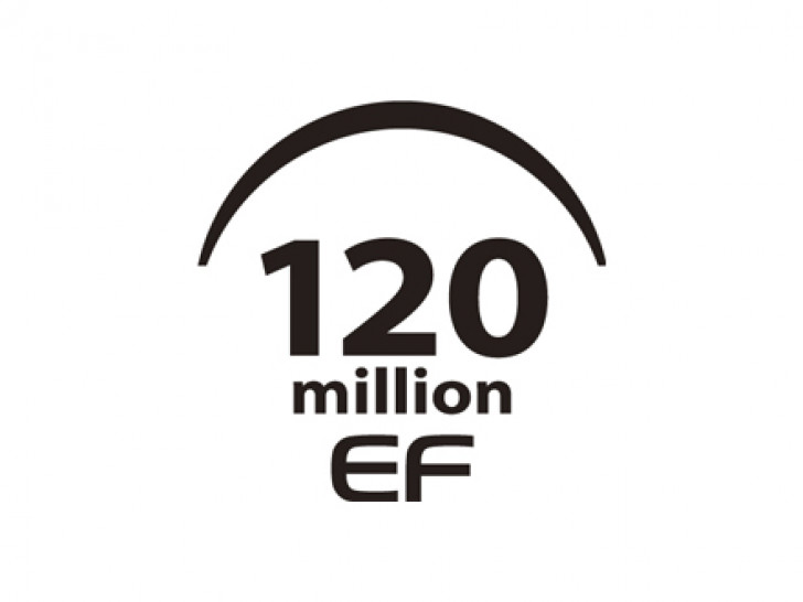 Canon reaches 120 million interchangeable EF lenses