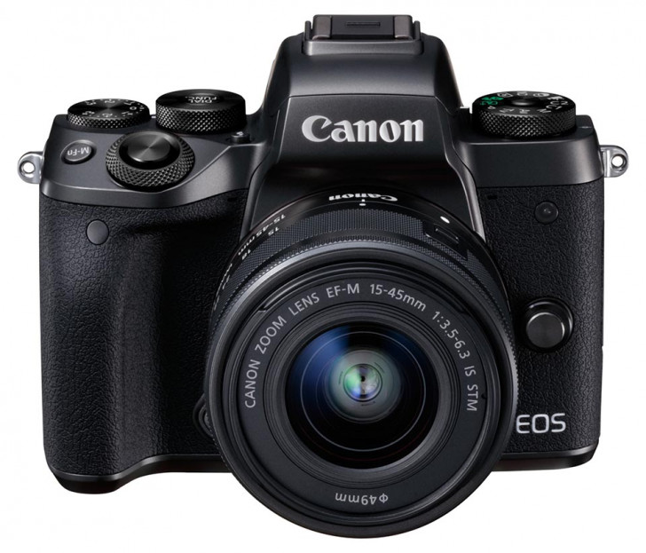 EOS M5 with EF-M 15-45mm lens