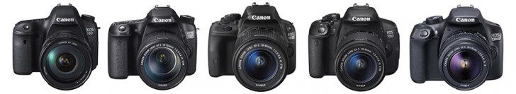 Canon camera firmware updates for latest lenses
