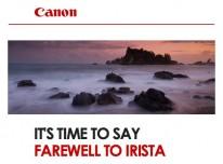 Canon shuts down IRISTA photo sharing service