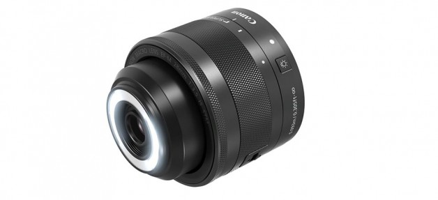 Canon EF-M 28mm f/3.5 MACRO IS STM with built-in Macro Lites