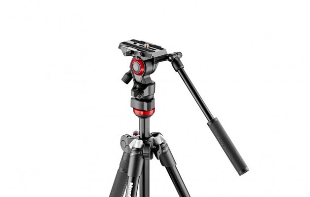 Manfrotto Befree Live a compact lightweight video tripod & fluid head